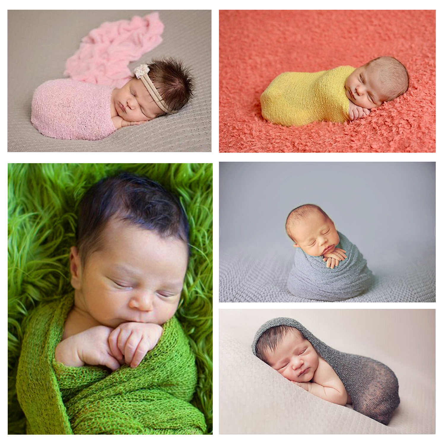 Infant Baby Girls Boys Crochet Knit Wraps Costume Photo Photography Prop Outfits